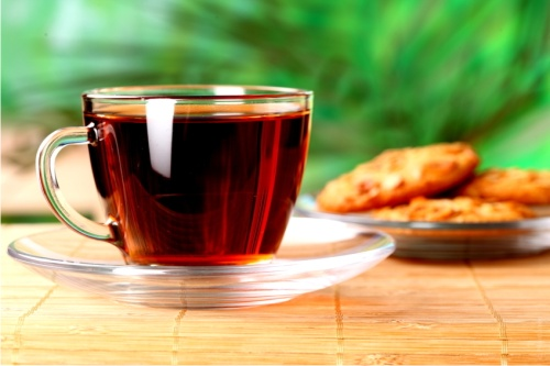чай, корица