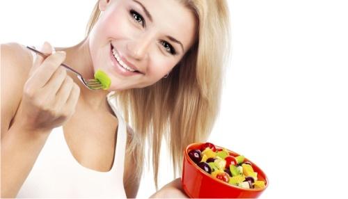 салат из фруктов, похудение