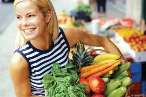 продукты, здоровье, кожа