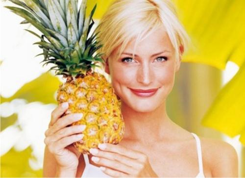 ананас, здоровье