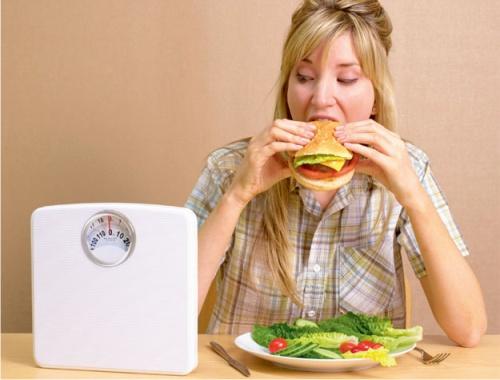 привычка, переедание