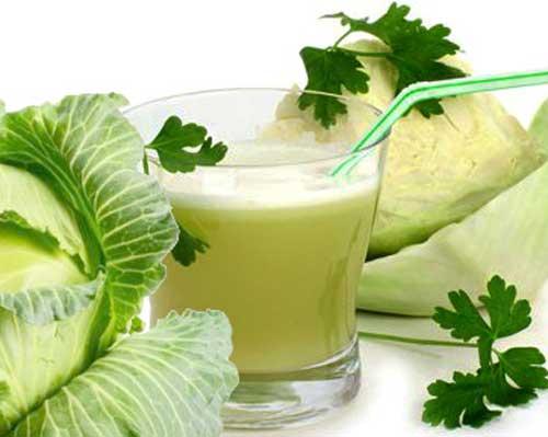 капустный сок, похудение