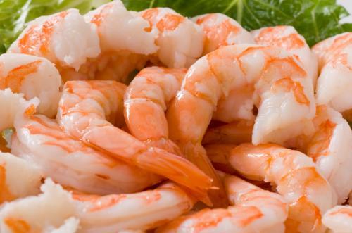 креветки, морепродукты