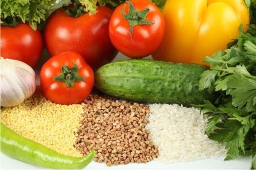 овощи, злаки
