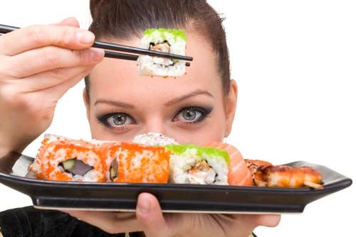 суши, похудение