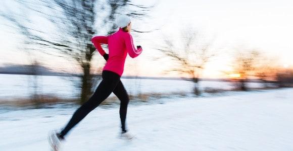 зимняя пробежка