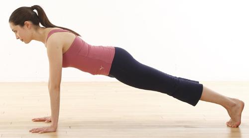 упражнение, планка