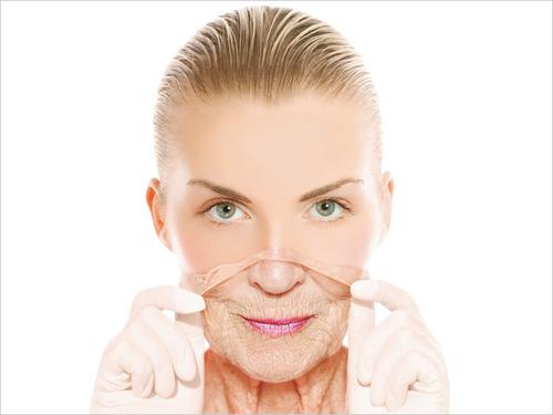 кожа, старение