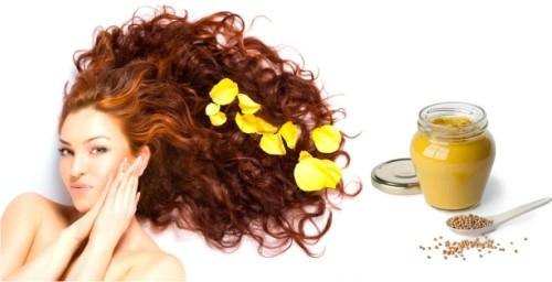 горчица, рост волос