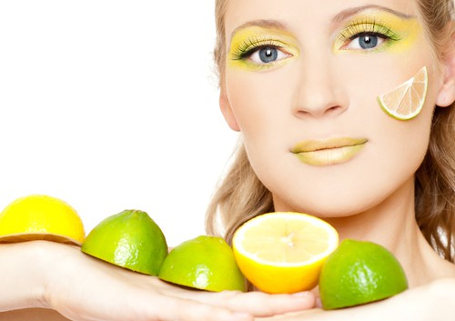 лимон, кожа