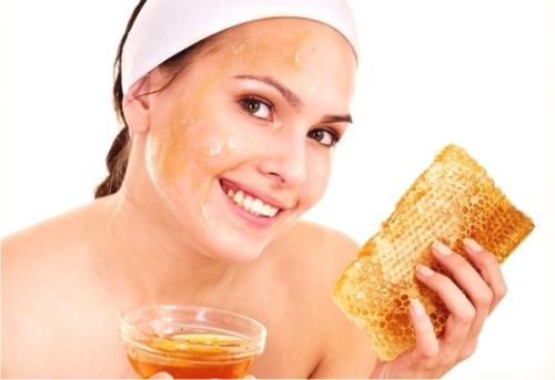 мед, маска