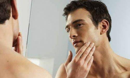 мужчина, бритье, уход