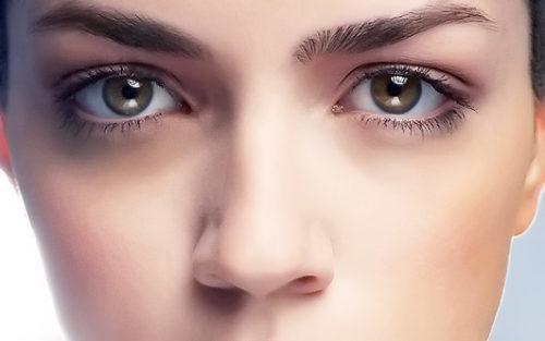 глаза, темные круги