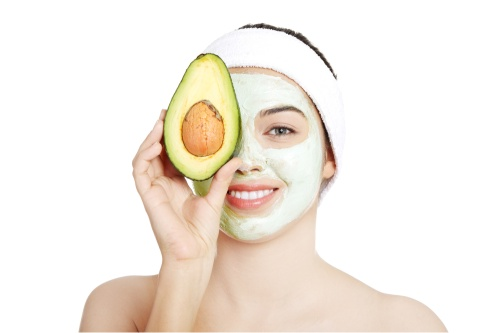 авокадо, маска