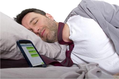 сон, смартфон