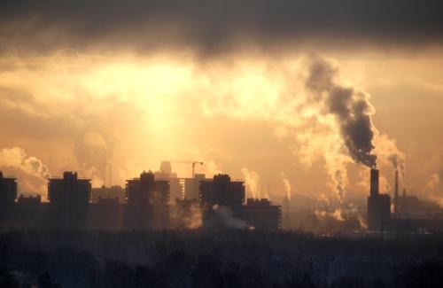 загрязненный воздух, сердечно-сосудистые заболевания