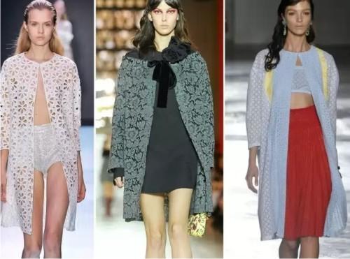 Модные кружевные платья юбки блузы 2015 54