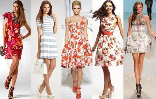 Женские платья лето 2015