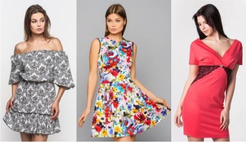 Платья в моде лето 2016