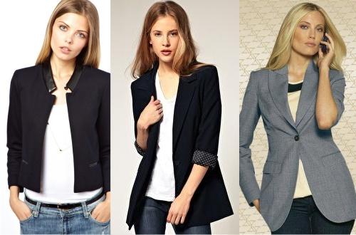 жакеты и пиджаки женские фото
