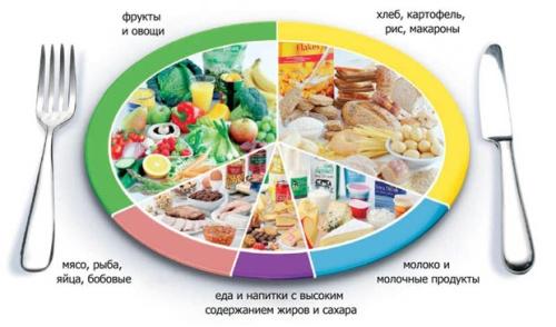 дробная диета, щадящая диета