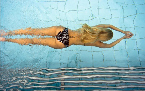 плавание, бассейн