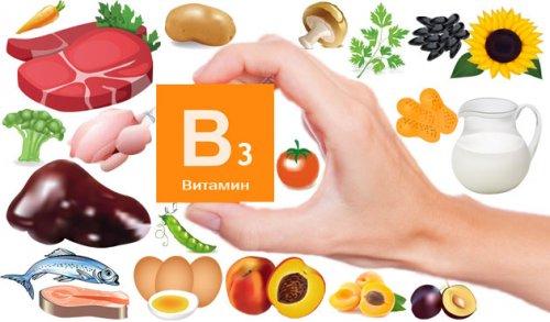 витамин PP, витамин B3