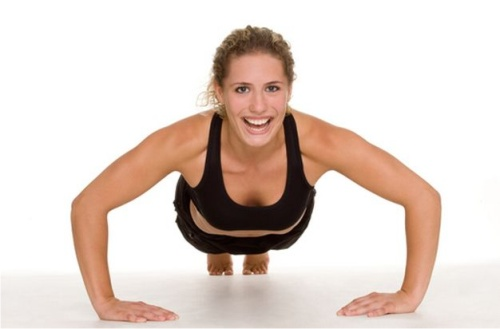 упражнения для груди