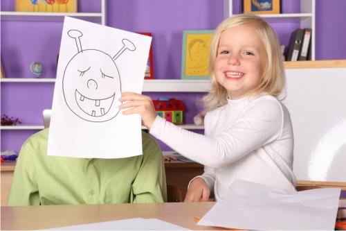 рисование, ребенок