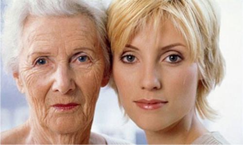 старение, кожа