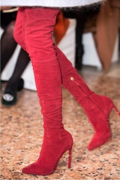 мода, тенденции 2013, сапоги ботфорты