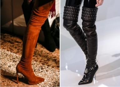 стиль, тенденции моды, ботфорты