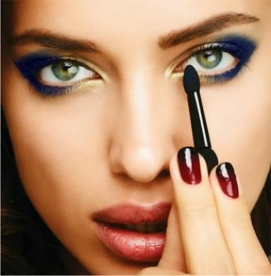 мода, макияж, Ирина Шейк