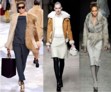 мода, коллекция, дубленки