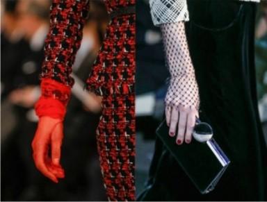 мода, тренды, перчатки