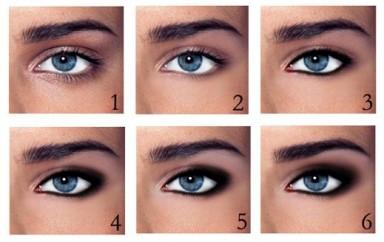 макияж, глаза, естественность