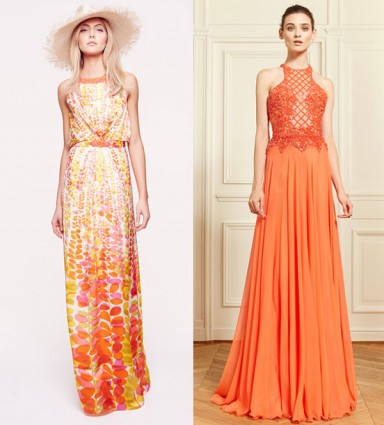 платья, тренд 2014, открытые плечи, модный наряд