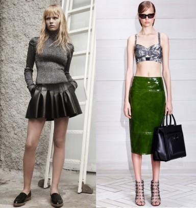 мода, весна лето 2014, принт, модный цвет