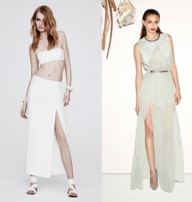 модные юбки, сезон весна лето, ассиметричные юбки, ретро