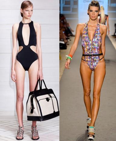 мода, купальники, модный бренд