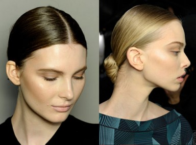 прическа, пучок, прическа волосы, Bottega Veneta, Alberta Ferretti, Dolce & Gabbana