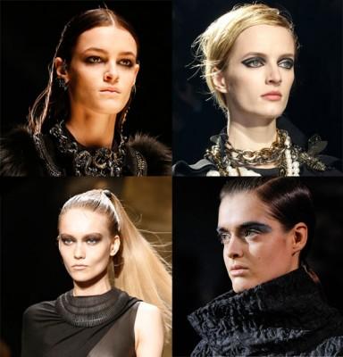 модный макияж, тренды макияжа, стиль макияжа, красная помада