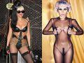 звезды, стиль ню, Леди Гага, Мадонна