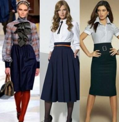 деловая одежда, мода 2015