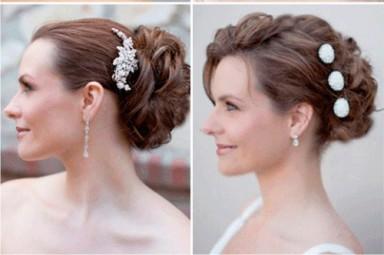 модные прически, свадебные прически, прически 2014, свадебный сезон