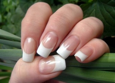 французский маникюр, ногти, сделать маникюр