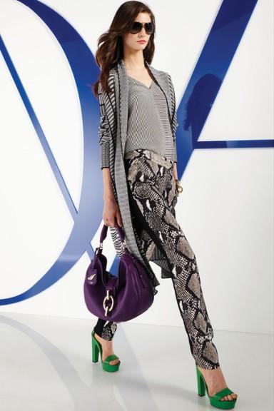 мода 2014, змеиный принт