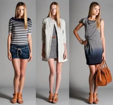 мода, морской стиль