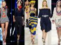 лето 2014, морской стиль, платья, шорты, юбки