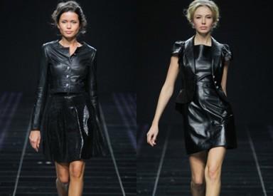одежда из кожи, мода